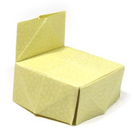 classic origami chair