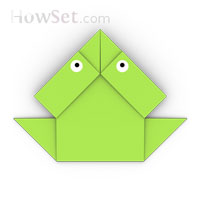 origami jumping-frog2 for kids