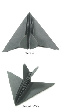How to make a rocket with chart paper