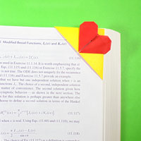 top-corner heart bookmark