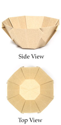 How To Make Origami Bowl