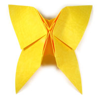 origami butterfly IV