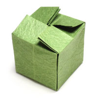 origami closed cube II