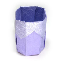 3d origami cup II