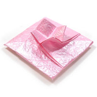 diamond origami envelope