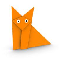 tradicional origami zorro