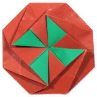 octagon origami letter II
