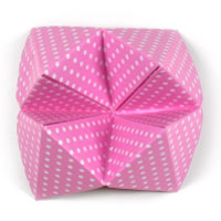 traditional origami paper fortune teller