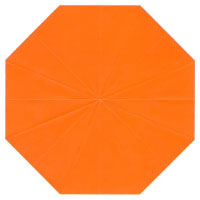 regular octagon origami paper