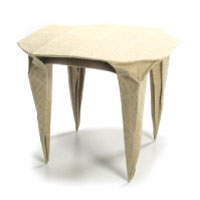Origami round dining table II