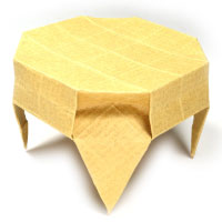 Origami round table II