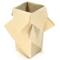 How To Make Origami Vase