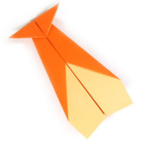 traditional paper airplane