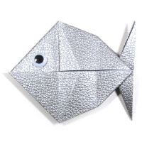 traditional origami fish