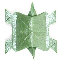 traditional origami turtle