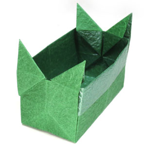 butterfly origami box