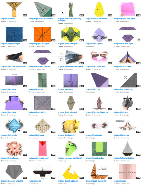 This Channel Video Taped 356 Origami Diagrams From Makeorg The Is Shown Below