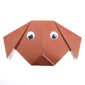 This Dog Might Be The Easiest Origami You Have Folded With A Few Folding Steps