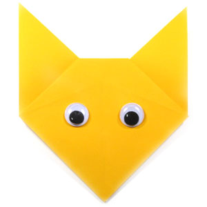 How to make a traditional talking origami fox: page 1 | 300x300