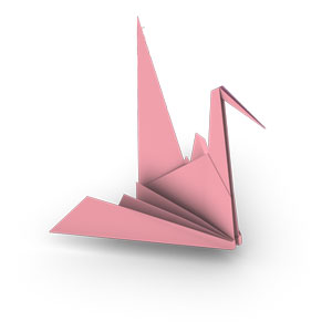 Origami make shares directions for a kid friendly origami crane