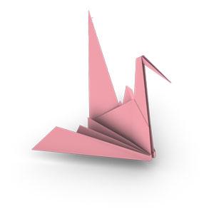 Origami Crane Instructions | 300x300
