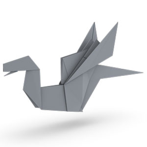 traditional origami dragon for kids