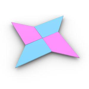 Origami Ninja Star Gun An