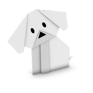 how to make origami dog