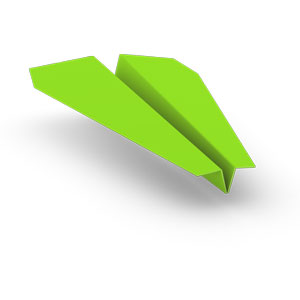 make one step paperclip to held the aerodynamics and just Origami Paper Airplane Glider