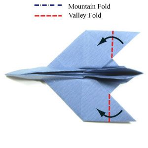 29th Picture Of Simple Origami Airplane Fighter Jet Plane