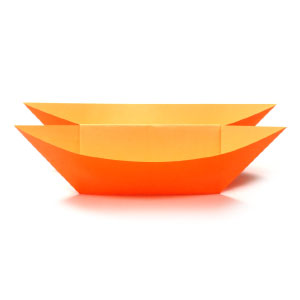 how to make a simple origami catamaran boat page 1