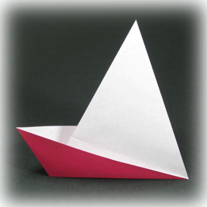 How to Make an Easy Origami Boat | 300x300