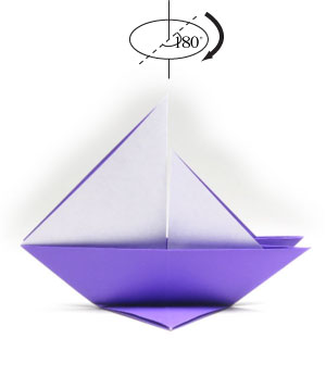 how to make a traditional origami sailboat page 5