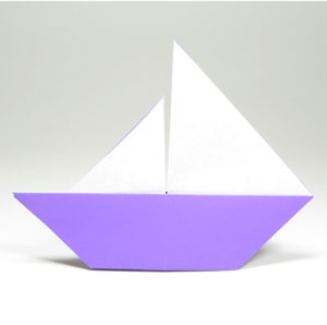 How To Make A Traditional Origami Sailboat Page 1