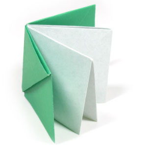 How To Make An Easy Origami Book Page 1