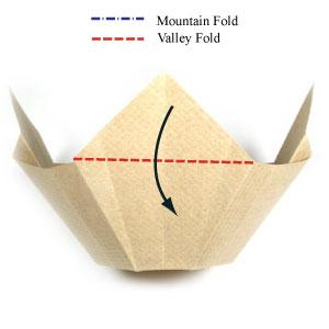 Simple Origami Bowl Tutorial (Hyo Ahn) - YouTube | 300x300