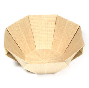 15th Picture Of 3D Origami Bowl