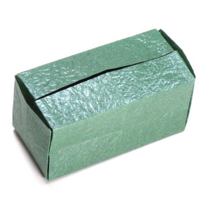 Closed Rectangular Origami Box