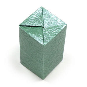 Closed Rectangular Origami Box II