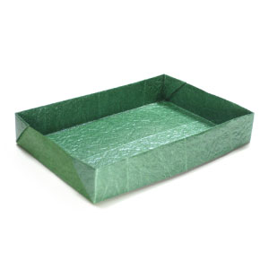 Large Flat Rectangular Origami Box