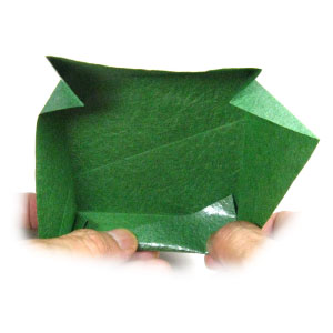 How to make a large square origami box: page 7   300x300