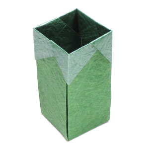 Tall Square Origami Box