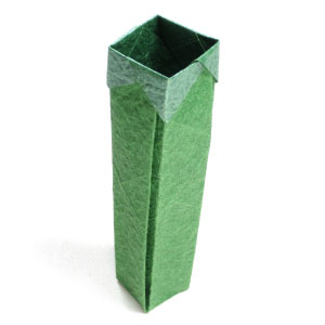 tallest square origami box