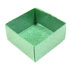 traditional origami box