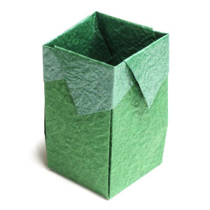 trash origami box II