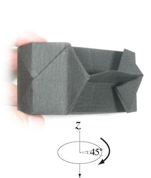 How to make a Paper Camera (Tutorial) - Paper Friends 18   Origami ...   352x300