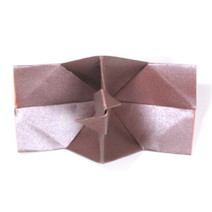 traditional origami camera