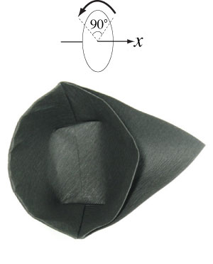 how to make origami cap