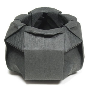 Origami Cauldron For Halloween
