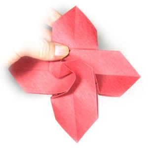 How to make an origami christmas flower poinsettia page 12 21th picture of origami christmas flower poinsettia mightylinksfo